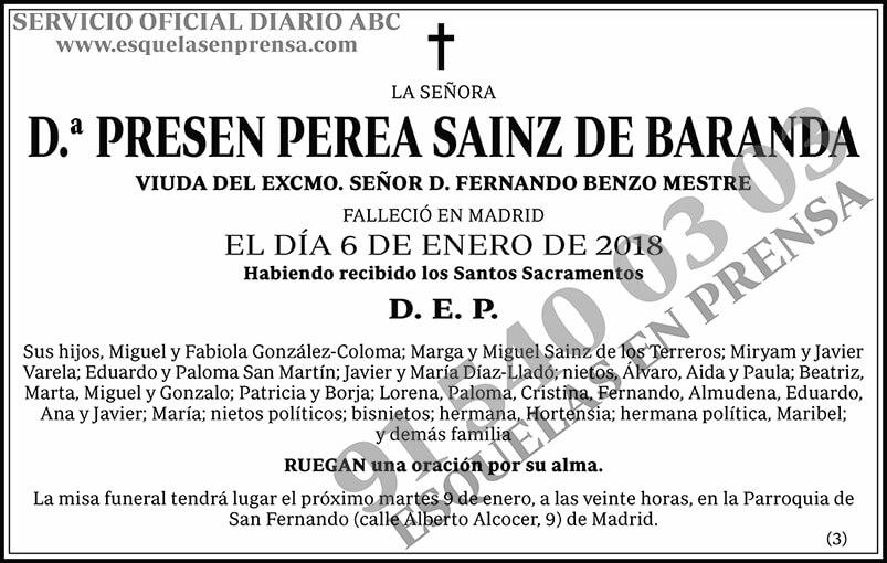 Presen Perea Sainz de Baranda